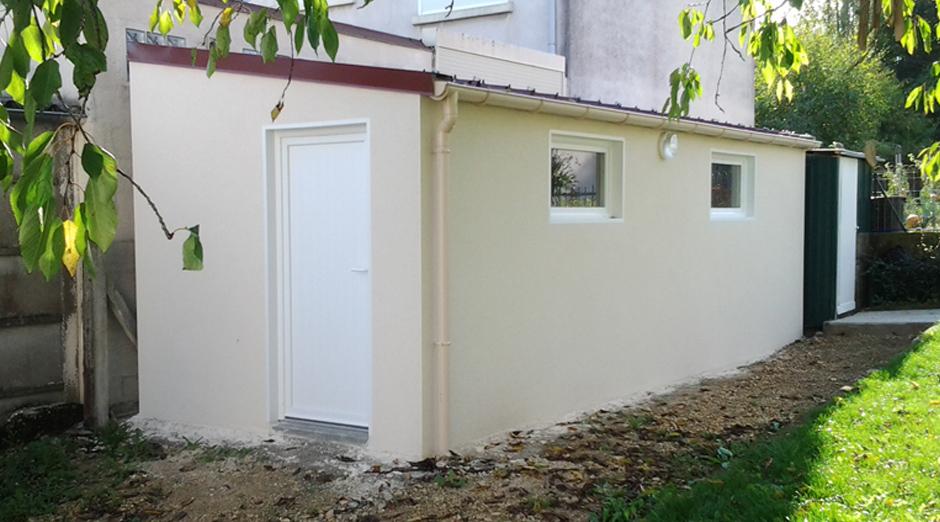 Ateliers et abris en b ton pr fabriqu sur mesure for Garage beton en kit prix