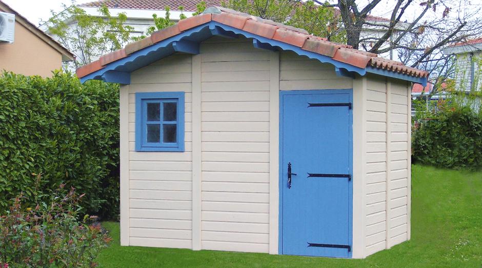 Abris de jardin en b ton et b ton aspect bois sur mesure - Construire abri de jardin en parpaing ...