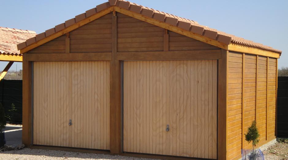 Garages préfabriqués en béton et béton aspect bois sur me # Garages En Bois Préfabriqués