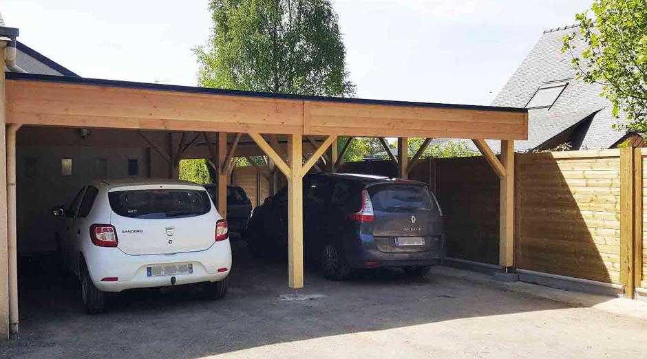 carports et abri voiture. Black Bedroom Furniture Sets. Home Design Ideas
