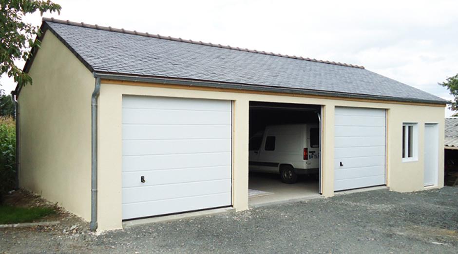 Garages En Bois Préfabriqués - Garages préfabriqués en béton et béton aspect bois sur mesure