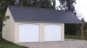 Garages pr fabriqu s en b ton et b ton aspect bois sur mesure - Garage prefabrique beton prix ...
