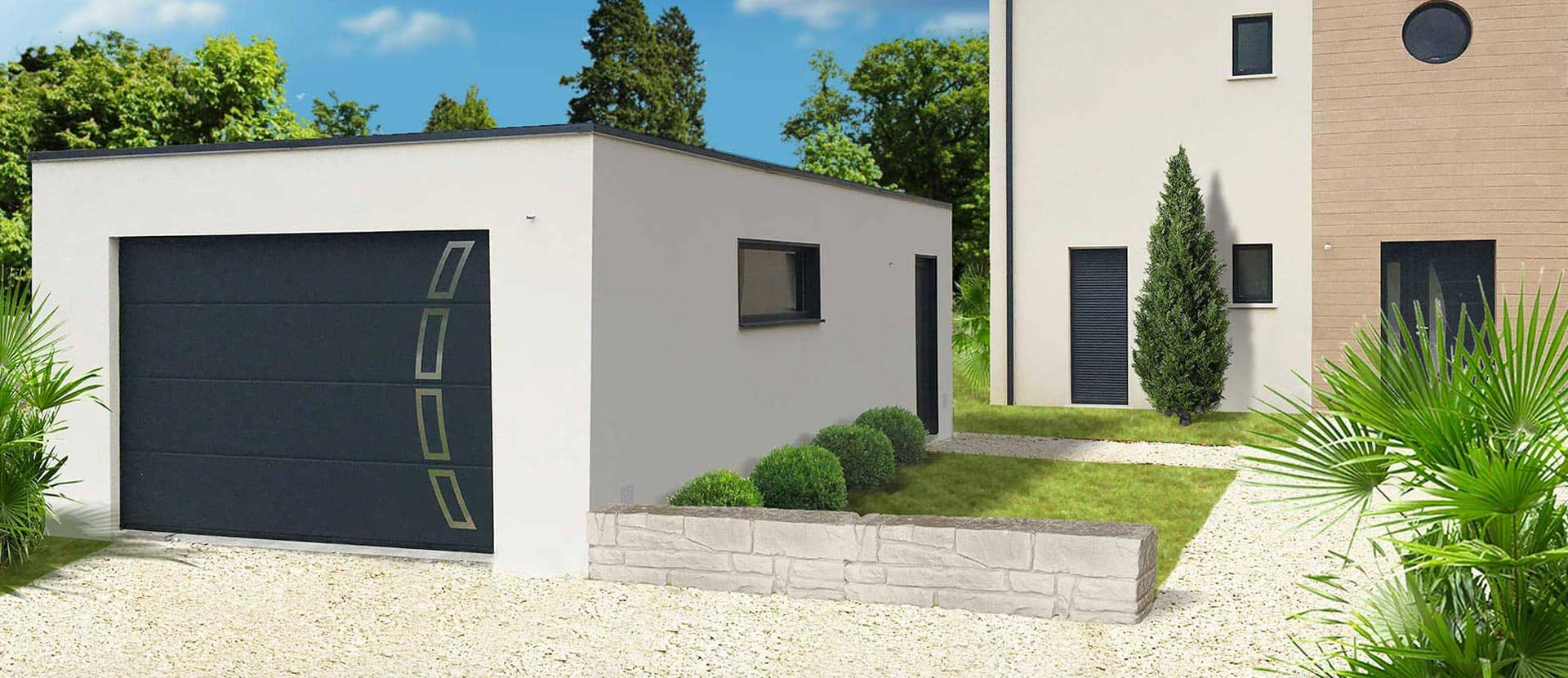 Espace Construction Yffiniac Avis garage et construction modulaire béton et béton aspect bois