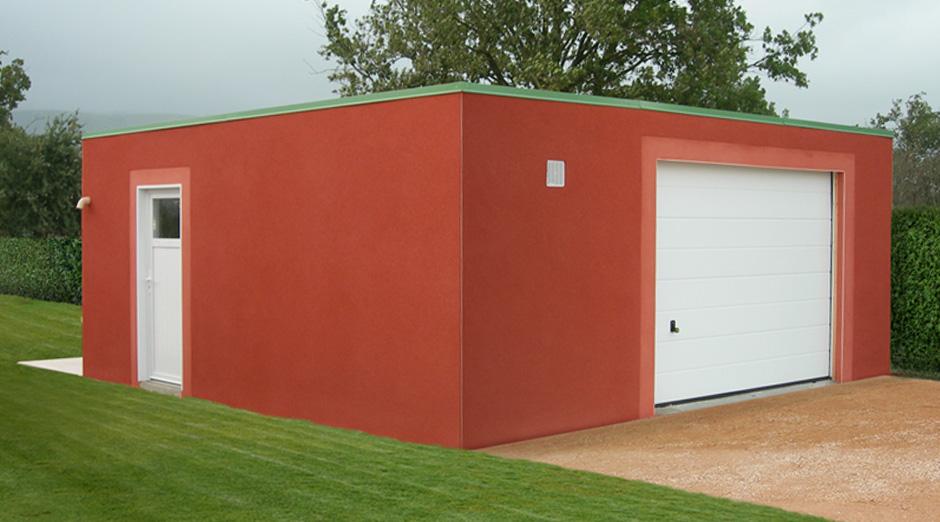 Garages En Béton Et Béton Aspect Bois