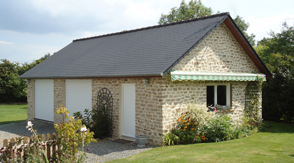 Interesting garages en bton et bton aspect bois with garage modulaire beton - Garage prefabrique alsace ...